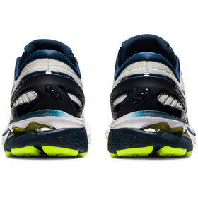 asics Gel-Kayano 27 Zapatillas Hombre, gris/azul